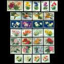 中国花卉特种邮票全
