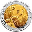 中国熊猫金币发行35周年精制双金属纪念币(30克金12克银)