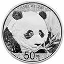 2018年150g熊猫银质纪念币