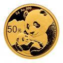2019年3g熊猫金质纪念币