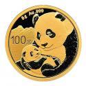 2019年8g熊猫金质纪念币