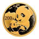 2019年15g熊猫金质纪念币