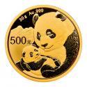 2019年30g熊猫金质纪念币