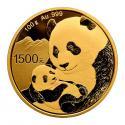 2019年100g熊猫金质纪念币