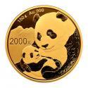 2019年150g熊猫金质纪念币