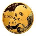 2019年1公斤熊猫金质纪念币