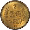 1983年二角长城币