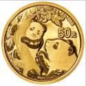 2021年3g熊猫金质纪念币