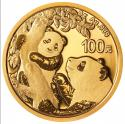 2021年8g熊猫金质纪念币