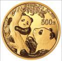 2021年30g熊猫金质纪念币