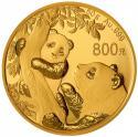 2021年50克熊猫金质纪念币