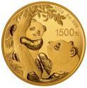 2021年100克熊猫金质纪念币