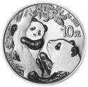 2021年30g熊猫银质纪念币