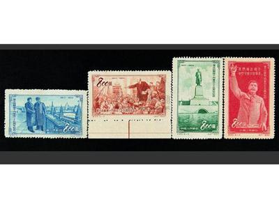 標志新紀元的紀20蘇聯十月革命錯版票