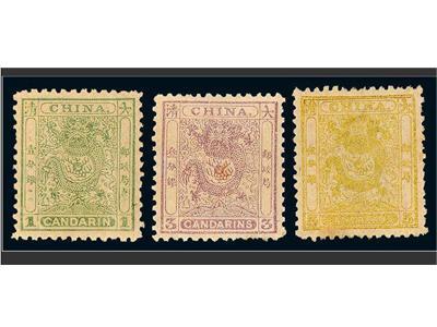 小龍郵票的來歷以及與大龍郵票的區別