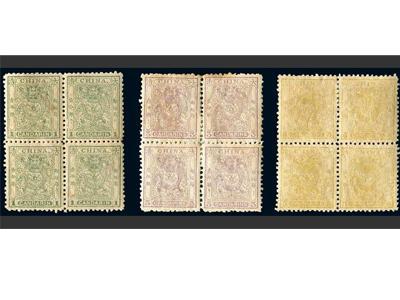 小龍郵票印制傳說及四方連價值
