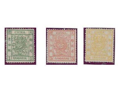 早期大龍郵票的拍賣紀錄