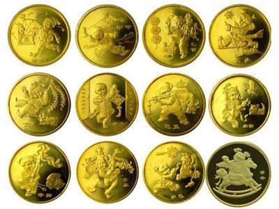 十二生肖流通紀念幣價格高升