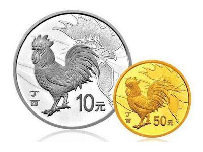 2017丁酉(雞)年生肖金銀紀念幣被稱龍頭的原因