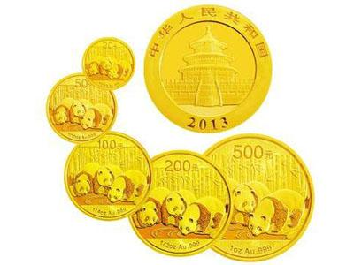 淺析2013熊貓金幣價值