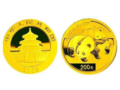 2008年熊貓金幣套裝值得收藏