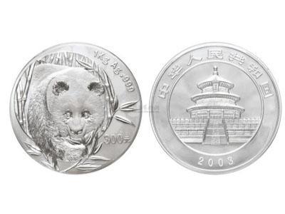 熊貓一公斤銀幣前景不錯