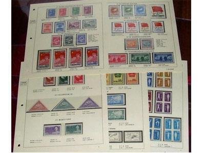 不可忽视老纪特邮票集