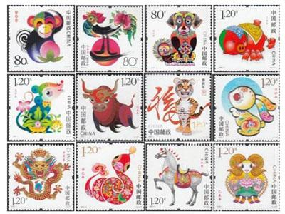 分析第三輪生肖郵票