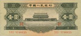解讀黑一元天安門紙幣 前途無可限量