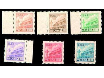 普5天安門郵票最新收藏價值