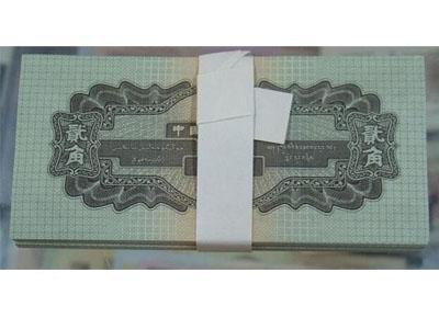 1953年2角人民币价格高的原因