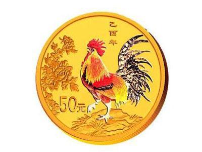 2005年錯版生肖彩金雞幣錯在哪里