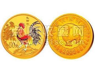 四層面解析2005年雞彩金幣錯版潛力