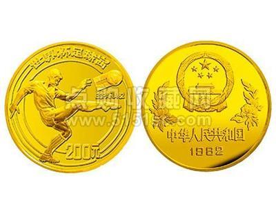 1982年第十二届世界杯足球赛纪念金币诞生