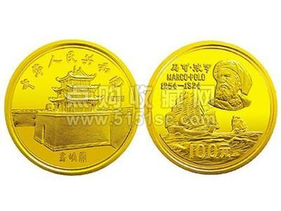 1983年發行馬可波羅紀念金幣唯一獲歷史意義紀念幣