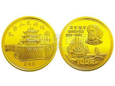 1983年發行的馬可波羅紀念金幣紀念意義