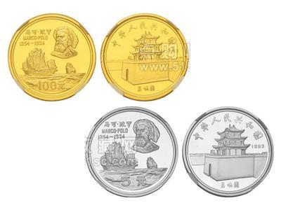 1983年10克馬可波羅精致紀念幣(金質)