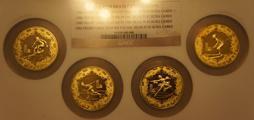 奥运题材纪念币较罕见