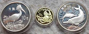 赏析1989年珍稀野生动物(第二组)金银纪念币