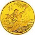 黄河文化(第一组)女娲补天1/2盎司金币详情