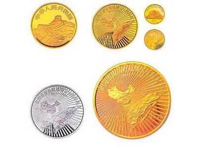 臺灣光復回歸祖國50周年金幣拍賣價格