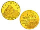 中國古代科技發明第一組一公斤金幣發行背景