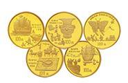 中國古代發明第一組1盎司金幣套裝發行背景