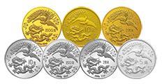 1990年发行龙凤金银纪念币1克金币价值