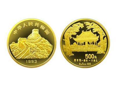 中国名胜拥有一片故土金币收藏与投资双赢