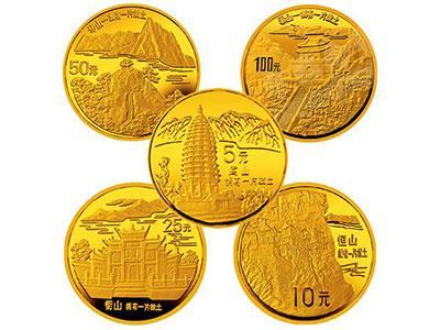 泰山-拥有一片故土金币收藏价值