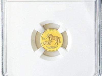 1995年麒麟纪念金币展现我国民族文化