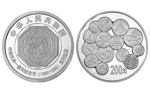 中国生肖1盎司纪念币发行12周年银币,中国生肖纪念币发行一公斤银币,生肖纪念币发行12周年一公斤银币,中国生肖一盎司纪念币发行纪念200元银币