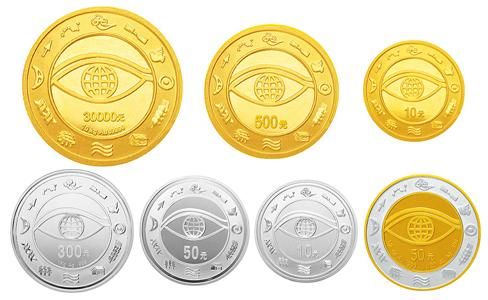 2000千年金银币,2000年千年纪念金银币,纪念千年世纪金银币,2000年千年纪念30000元金币价格