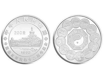 中国生肖1盎司纪念币公斤银币集藏价值